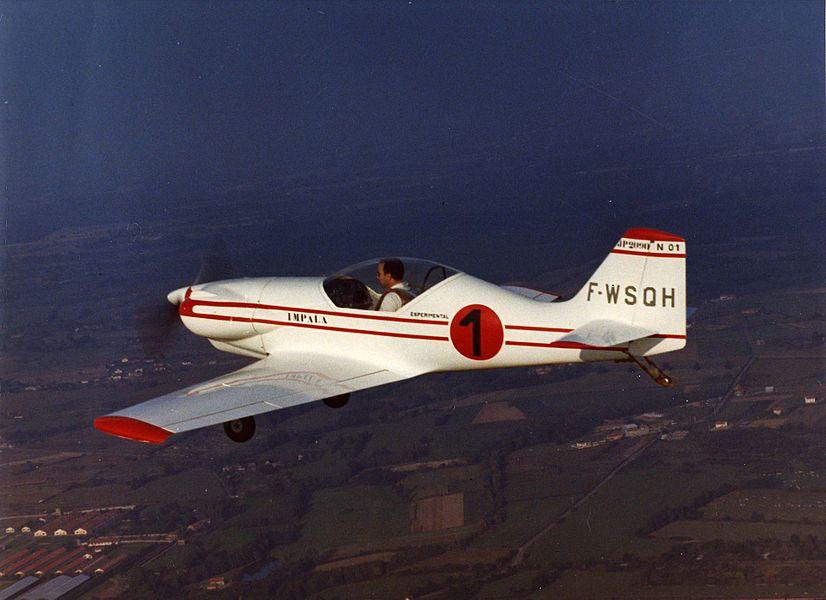 Deuxième vols d'essais du Jacquet-Pottier JP-20-90