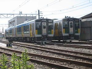 Kururi Line - Kururi Line E130 series DMUs