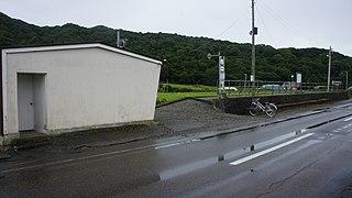 Hōei Station Railway station in Shinhidaka, Hokkaido, Japan