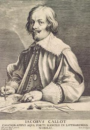 Jacques Callot - Jaques Callot, Lucas Vorsterman the Elder after Anthony van Dyck