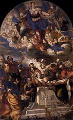 Assunzione della Vergine (Tintoretto Chiesa di Santa Maria Assunta detta I Gesuiti)