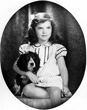 Jacqueline Kennedy Onassis - Six-year-old Bouvier in 1935