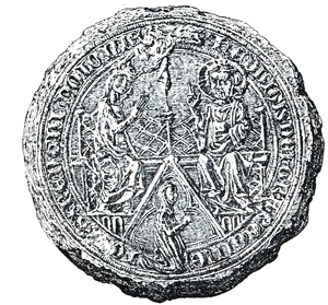 Jadwiga of Kalisz - Seal of Queen Jadwiga