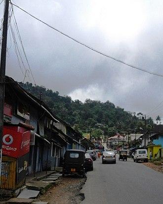 Virajpet - Image: Jain Street, Virajpet