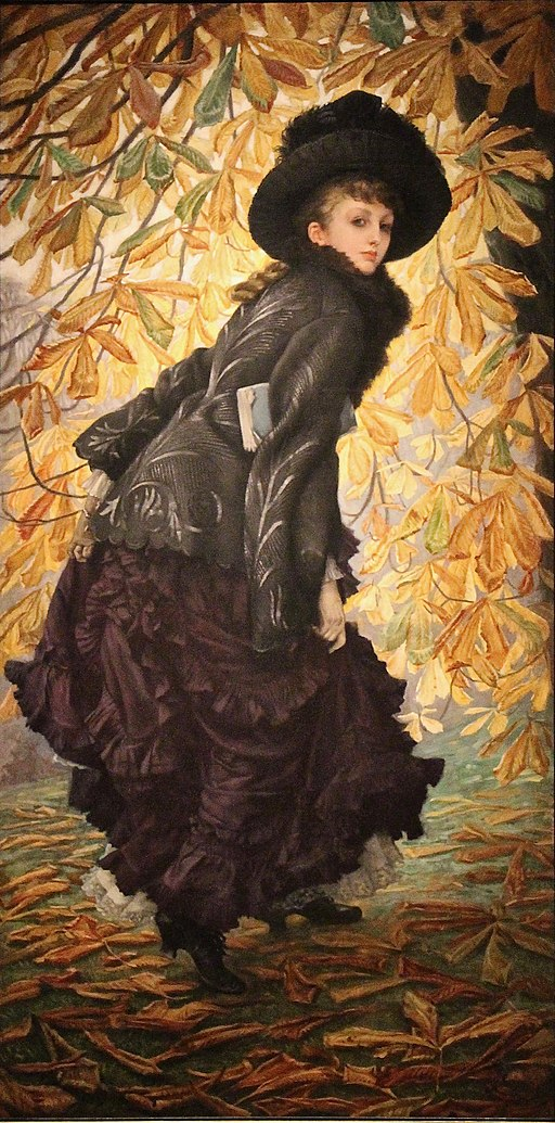 """October"" by James Tissot"