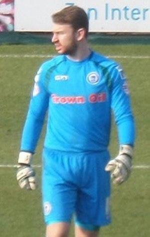 Jamie Jones (footballer) - Jones playing for Rochdale in 2015