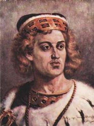Duke of Masovia - Image: Jan Matejko, Bolesław IV Kędzierzawy