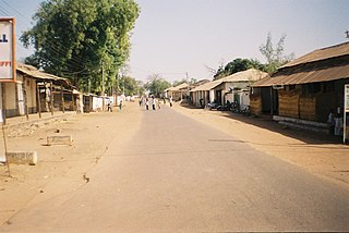 Janjanbureh, Gambia Place in Central River Division, The Gambia