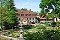 Janowice Wielkie, dziedziniec pałacu (Janowitz-Schloss-1).jpg