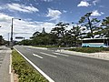 Japan National Route 191 in front of Hagi City Office 2.jpg