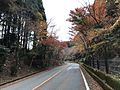 Japan National Route 500 in Ochiai, Soeda, Tagawa, Fukuoka 7.jpg