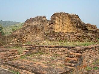 Akhara - The historic Jarasandha's Akhara at Rajgir, mentioned in the Mahabharata.