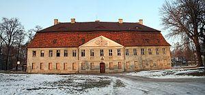 Jasień, Lubusz Voivodeship - Image: Jasien zamek 01