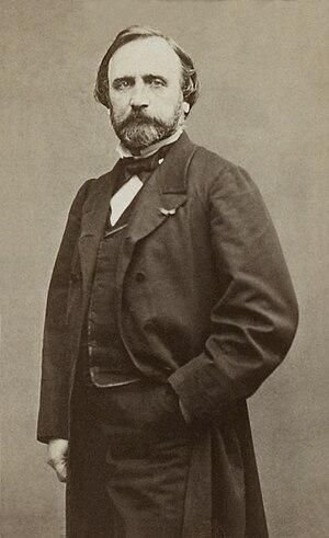 Jean-Achille Benouville - Jean-Achille Benouville; Photograph by Étienne Carjat (1864)