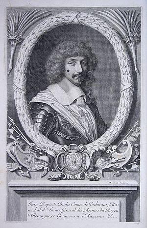 Jean-Baptiste Budes, Comte de Guébriant - Jean-Baptiste Budes, comte de Guébriant.