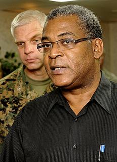 Jean-Max Bellerive Haitian politician