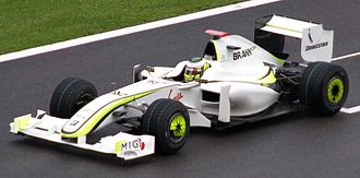 2009 Belgian Grand Prix - Jenson Button failed to complete the first lap, his only failure to score points in the 2009 campaign.