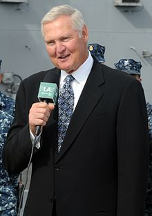 Jerry West on USS Ronald Reagan (cropped).jpg