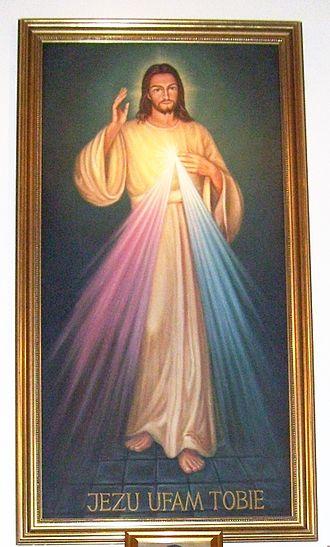 Mercy - Image: Jesusbild von der Barmherzigkeit Gottes