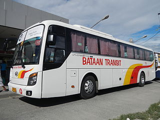Bataan Transit Bus company in the Philippines