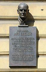 Jiří Brdlík bust