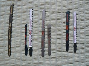 Jigsaw (power tool) - T-shank blades