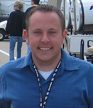 Jimmy Kite - Jimmy Kite at the Indianapolis Motor Speedway in May 2008.