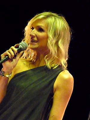 Jo Whiley - Jo Whiley at the Electric Proms in 2010