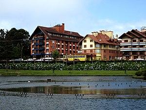 German Brazilians - Gramado is a touristic Italo-Germanic city in Rio Grande do Sul