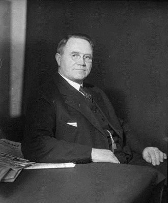 Johan Nygaardsvold - Prime Minister Nygaardsvold in 1934.
