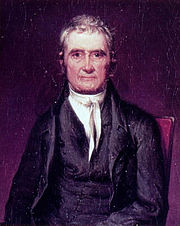 Chief Justice John Marshall established a broad interpretation of the Commerce Clause.