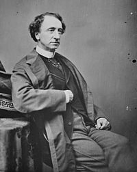 Father of Confederation en eerste minister-president van Canada Sir John A. MacDonald