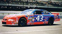 Mario Andretti Race Car Decanter
