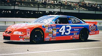 John Andretti - Andretti in the Petty Enterprise No. 43 Pontiac at Pocono June 1998
