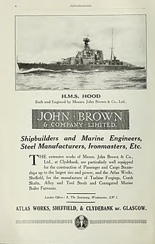 John Brown advertisement Brasseys 1923.jpg