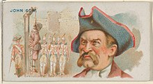 John Gow, Execution of Gow, from the Pirates of the Spanish Main series (N19) for Allen & Ginter Cigarettes MET DP835023.jpg