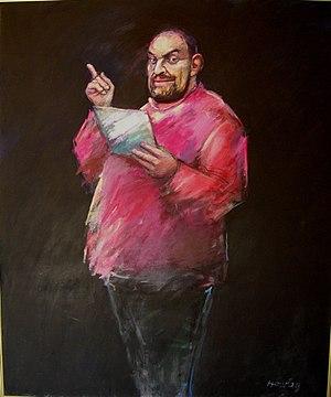 John Howley - Image: John Howley Adrian Rawlins oil on canvas 171x 159 1996