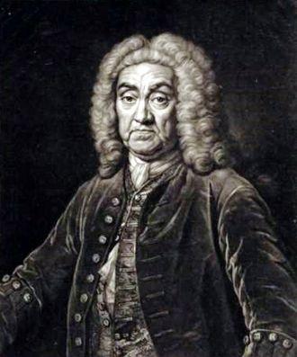 John James Heidegger - John James Heidegger. Portrait by John Faber Junior after Jean-Baptiste van Loo.