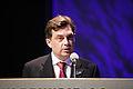 Jon Agust fran Marorka- vinnare av Nordiska radets miljopris ar 2008 vid prisutdelningen i Helsingfors 2008-10-28.jpg