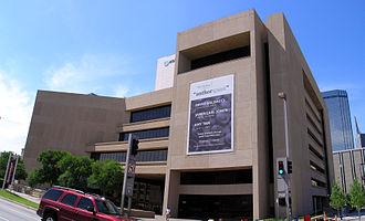 Dallas Public Library - Image: Jonnson Public Library Dallas TX