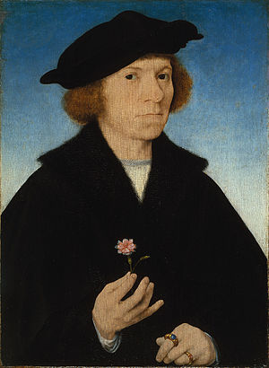 1519 in art - van Cleve – Self-Portrait, Thyssen-Bornemisza Museum