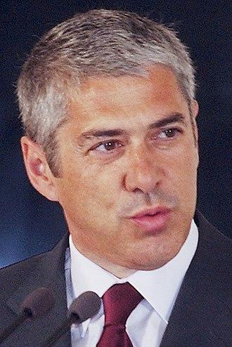 Portuguese legislative election, 2005 - Image: José Sócrates 2006b (cropped)