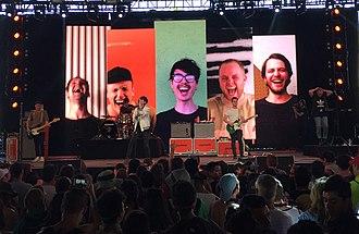Joywave - Joywave performing at the Coachella Valley Music & Arts Festival on April 17, 2016
