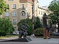 Jozef Pilsudski monument, Krakow,Poland.JPG