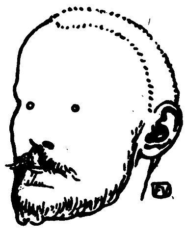 Феликс Валлотон. Портрет Жюля Ренара, 1898