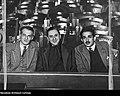 Julian Tuwim, Frydery Jarosy i Marian Hemar w Teatrze Cyrulik Warszawski.jpg