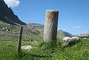 Julierpass Säule2