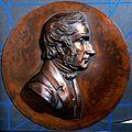 Justus von Liebig. Bronze (?) relief. Wellcome V0048052.jpg
