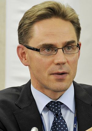 Finnish parliamentary election, 2011 - Jyrki Katainen