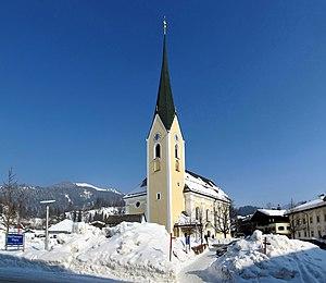 Kössen, Pfarrkirche Hl. Petrus und Hl. Paulus